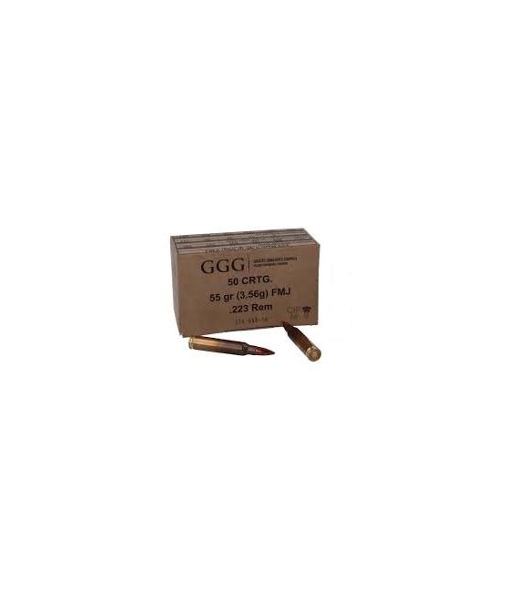 Amunicja 5,56x45 (.223 REM) GGG