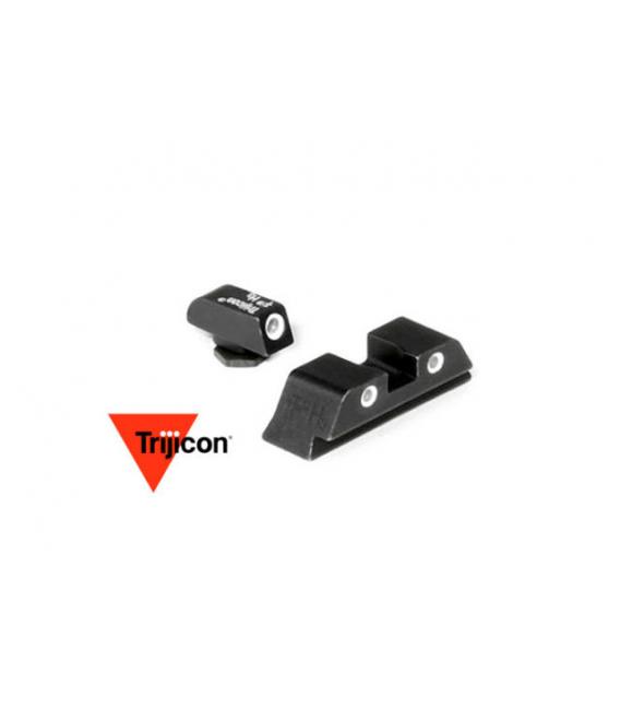 Przyżądy celownicze Trijicon GL01: Glock 3 Dot Green Front & Rear Night Sights