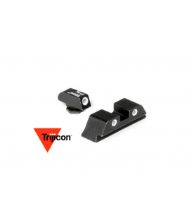 Przyżądy celownicze Trijicon GL01: Glock 3 Dot Green Front & Rear Night Sights