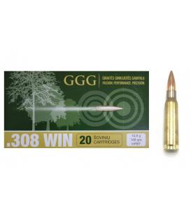 Amunicja GGG .308 WIN GPX13, 168gr HPBT