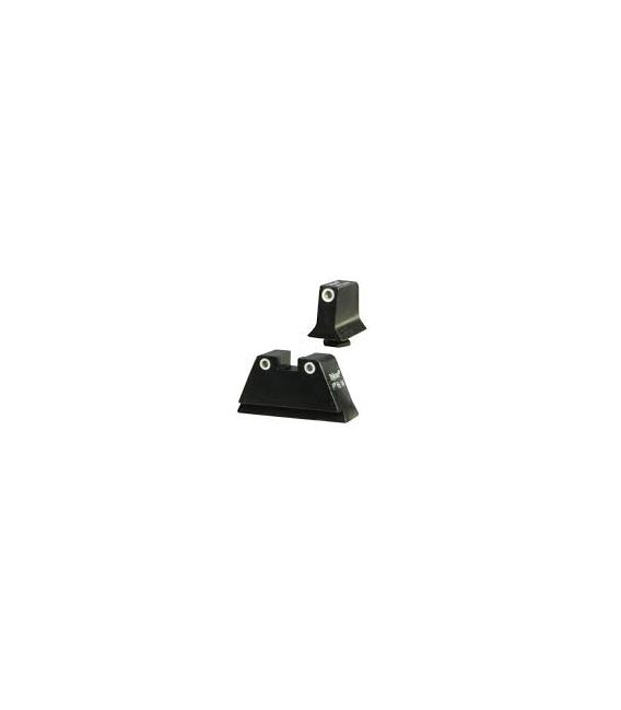 Przyrządy celownicze Trijicon GL201-C-600649 Black Glock Suppressor Night Sight Pistol
