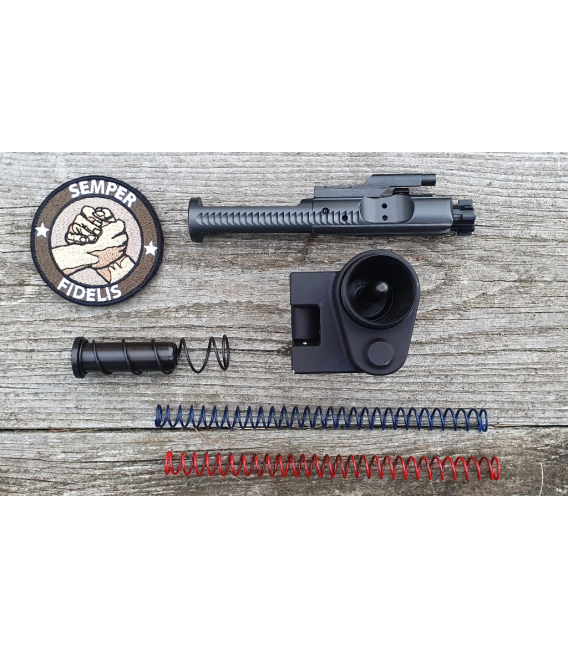 Suwadło zamka z zamkiem kompletne (BCG) Dead Foot Arms MCS z Adapterem do kolby kal 5.56x45mm(.223REM)
