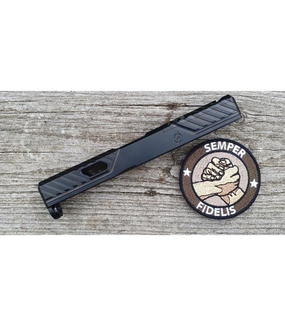 Zamek pistoletu Glock 19 gen 4 - Agency Arms Syndicate S-1 Stripped Slide
