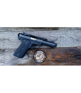 "Pistolet Ruger Mark 22/45 Tactical .22 LR SAO 4.4"" 1911 Style Grip"