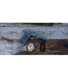 Wymienny chwyt pistoletowy SIG SAUER GRIP MODULE Assembly FULL SIZE 320 X-Series w/ Funnel&Weight - Grey Medium