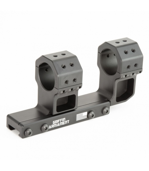 "Montaż Griffin Armament 30MM SPRM CantileverScope Mount - 1.425"" Height 15 MOA"