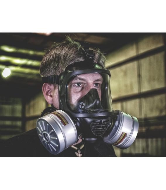Maska przeciwgazowa CM-6 (pełnotwarzowa)