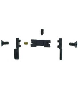Regulowany selektor ognia JP Adjustable Reversible Ambi Selector AR-15 - STD – Blue