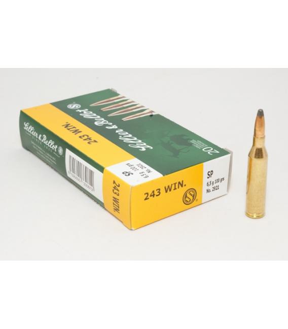 Amunicja 243 WIN. SP 6,5 g