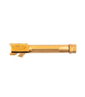 Lufa Agency Arms Glock 19 Threaded/Fluted Barrel - TiN